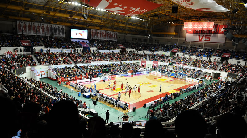 Sajik Arena Basketball Korea