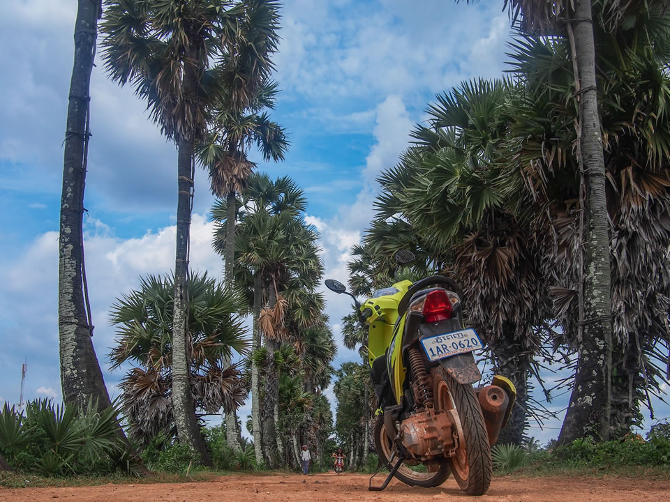 If you only stick to the main cities of a country, you're not seeing the bigger picture. Get two wheels and hit those dirt roads.