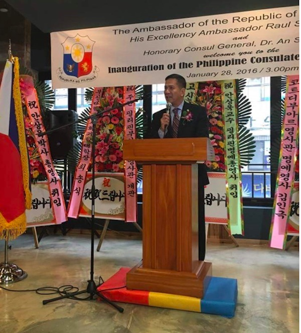 Philippine Consulate General Inaugurated in Busan