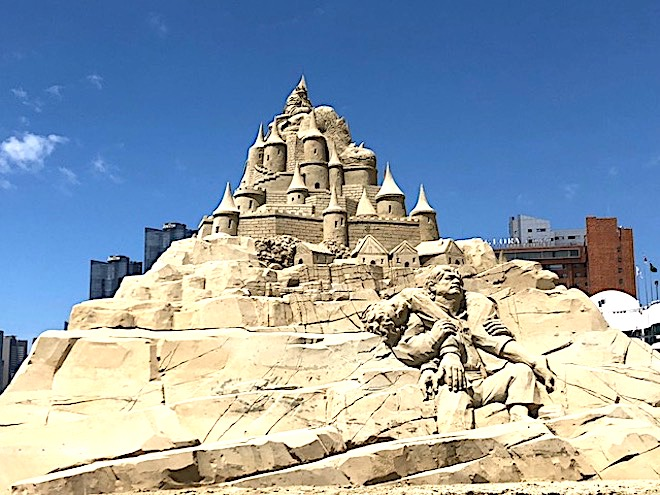 Image result for Haeundae Sand Festival 2019 in Busan 2019