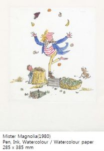 Quentin Blake Exhibition @ Busan Citizen's Hall