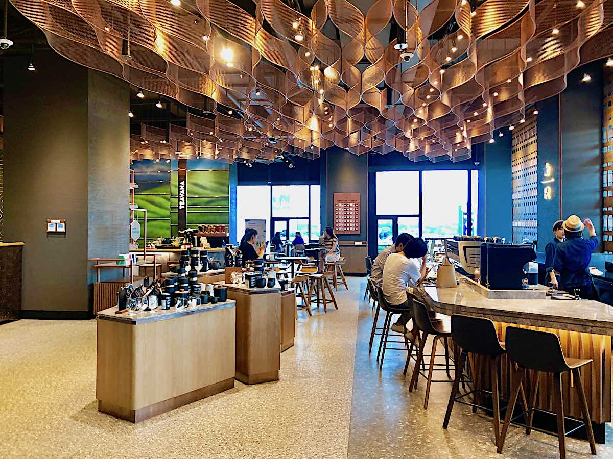 Take A Look Inside The First Starbucks Reserve In Busan