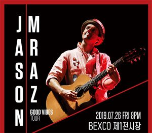 Jason Mraz Good Vibes Tour @ BEXCO