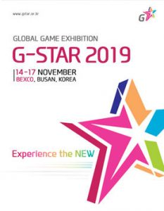 Global Game Exhibition G-STAR 2019 @ BEXCO