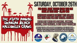 Fifth Annual Gwangan Beach Halloween Pub Crawl @ Gwangalli Beach